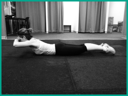 Irish dancing ready to feis core strength prone back extension