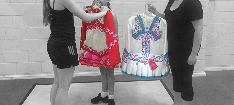 selling an irish dancing dress